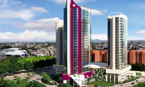 Iconia Cubos, Arquitectura vertical